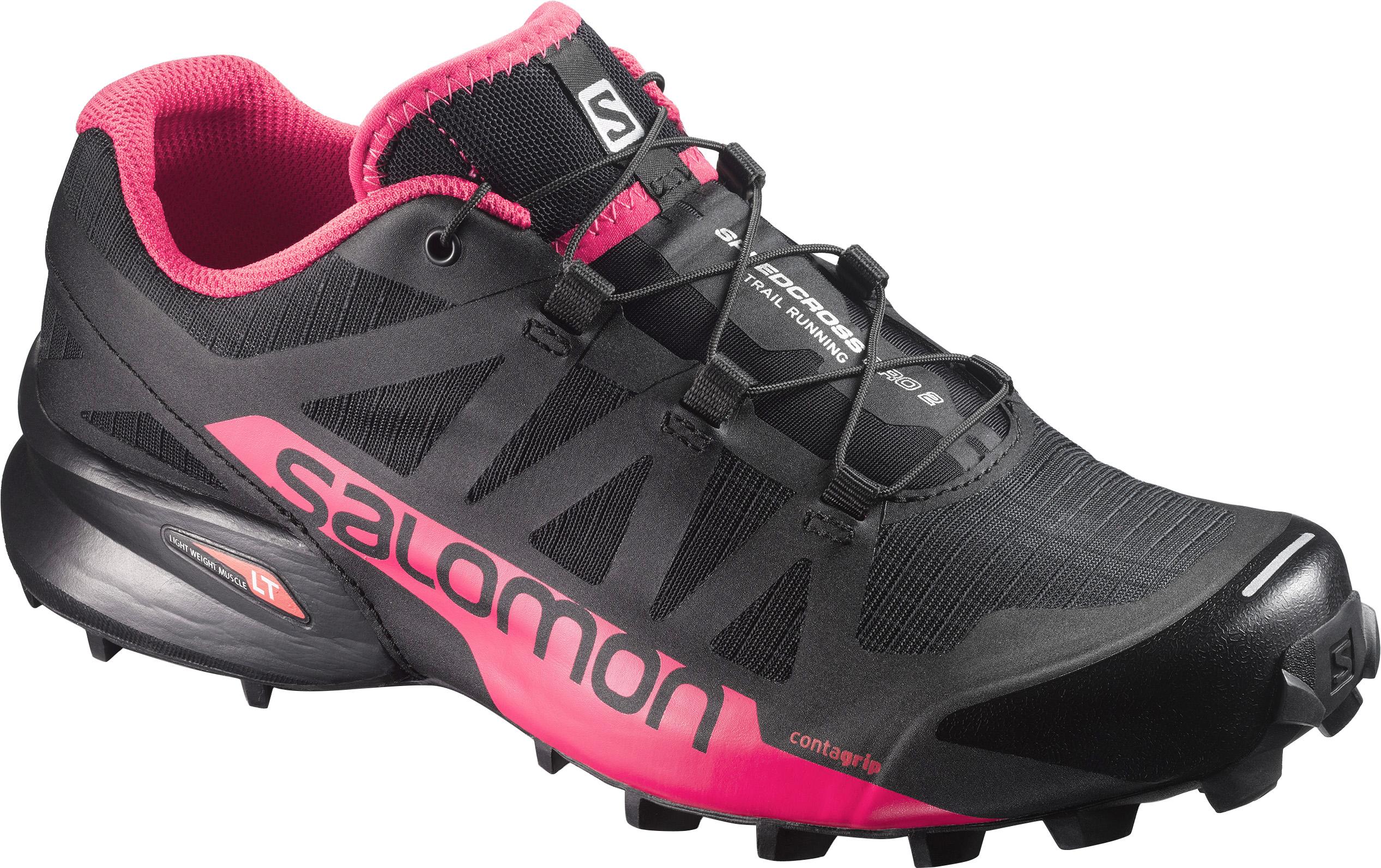 2019 Schuhe Salomon Speedcross PRO Herren Schwarz Weiß